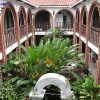 Inner courtyard of Hotel Colonial