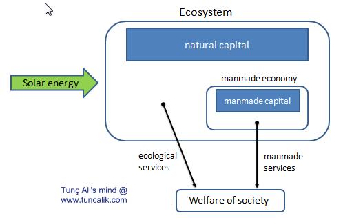 Basic model of ecological economics